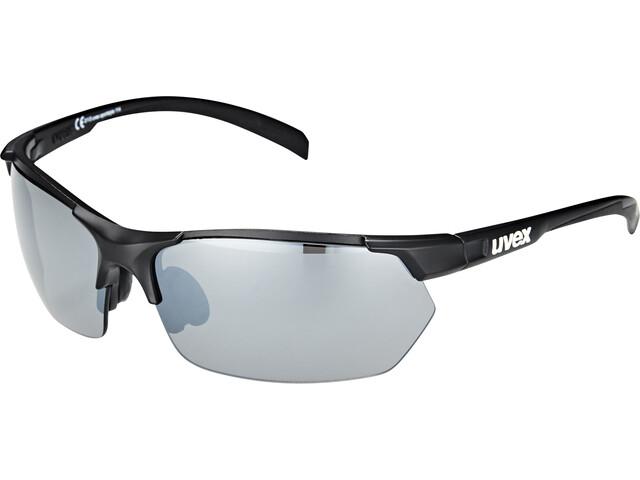 UVEX Sportstyle 114 Lunettes de sport, black mat/silver